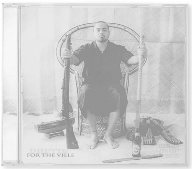 Poetik - For The Ville CD_gs