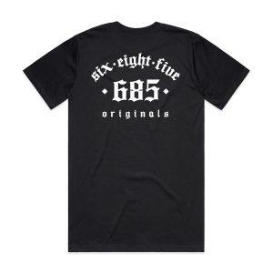 Original 685 Tee - Black Back