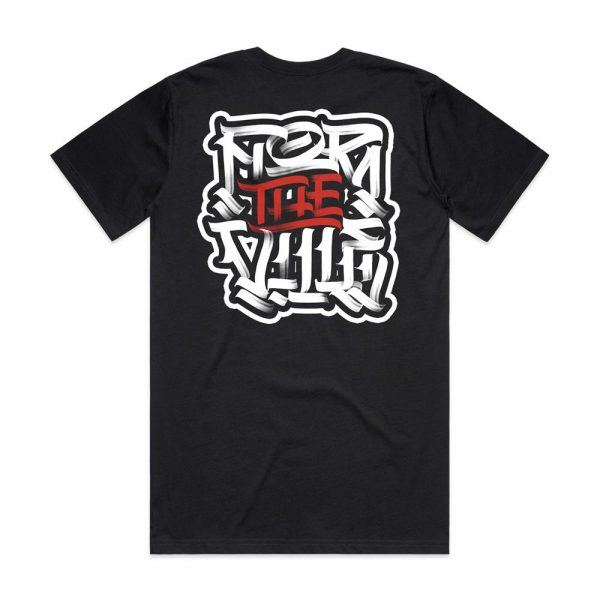 For The Ville Tee - Back