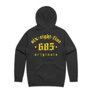 685 OG Tracksuit Hoodie Black Back